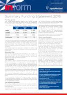 Summary Funding Statement 2016