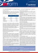 Summary Funding Statement 2015