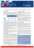 Summary Funding Statement 2014