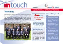Leonardo InTouch newsletter - Autumn 2012