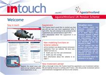 Leonardo InTouch newsletter - July 2012