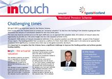 Leonardo InTouch newsletter - March 2009