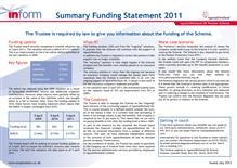 Summary Funding Statement 2011
